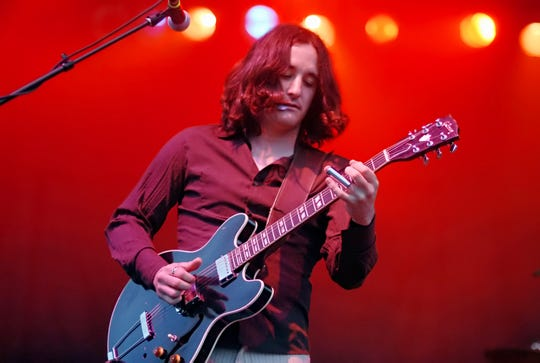 Guitarist Scott Tournet performs with Grace Potter and the Nocturnals at the Green at Shelburne Museum in 2006.