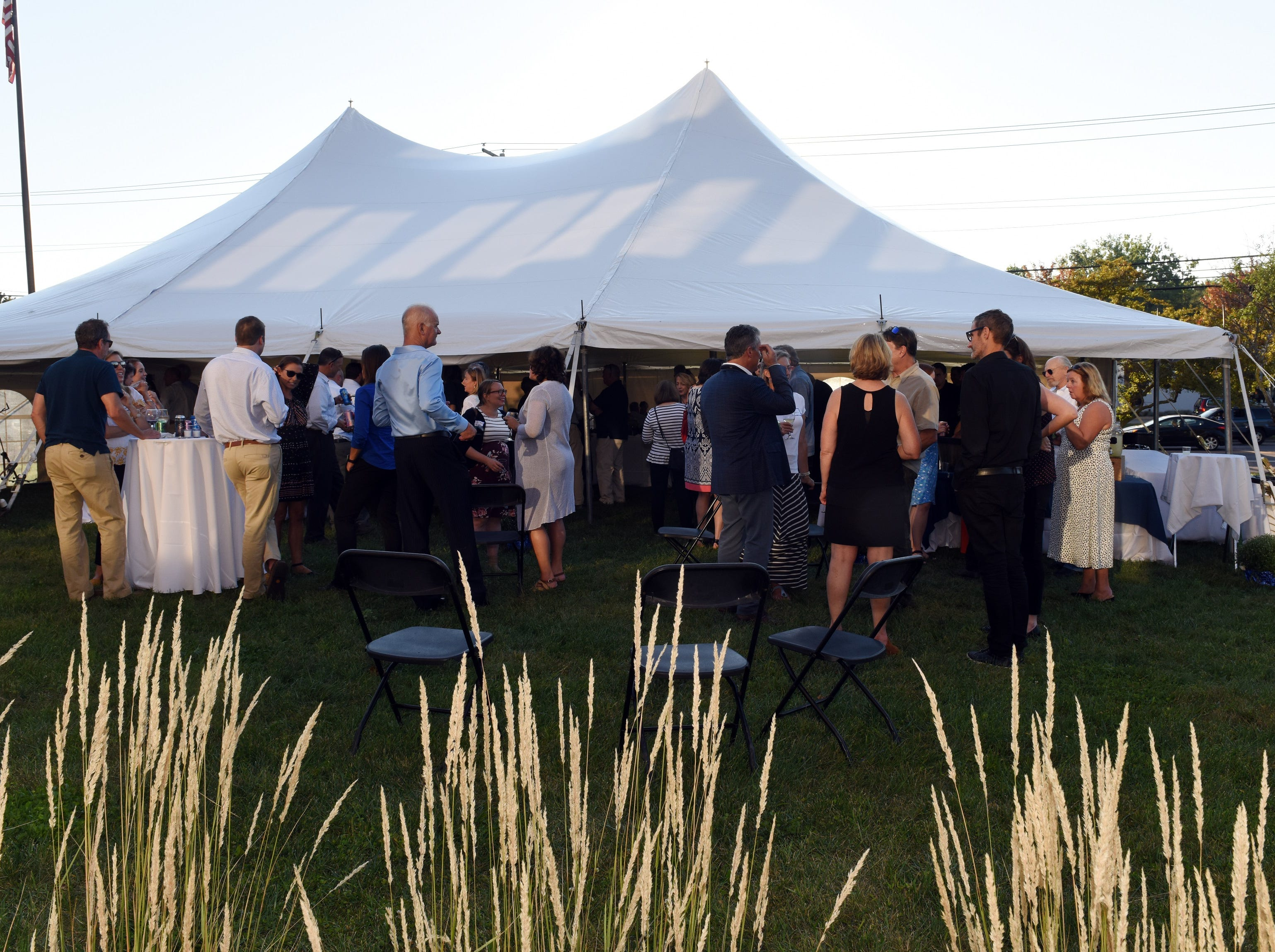 Perfect evening to celebrate the 60th Anniversary of Coldwell Banker Hickok & Boardman Realty's 60th Anniversary on September 13, 2018, with current and past agents and community leaders in Burlington, VT.