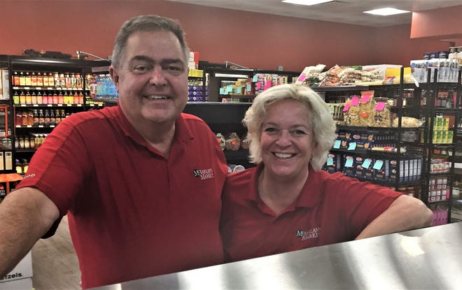 Peter Burgess and Janet Stevens are opening McFarlan's Market in a formerly rundown property in Collingswood's Haddon Avenue business district.