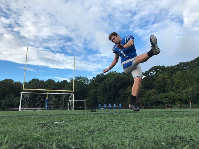 Paul VI kicker Henry Westermann hit a 52-yard field goal last week against Camden. It was tied for the fifth-longest in South Jersey history.