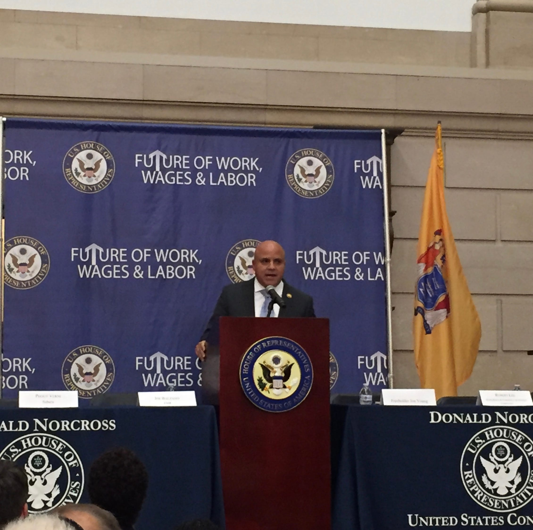 Camden mayor announces new jobs initiative for city residents at forum