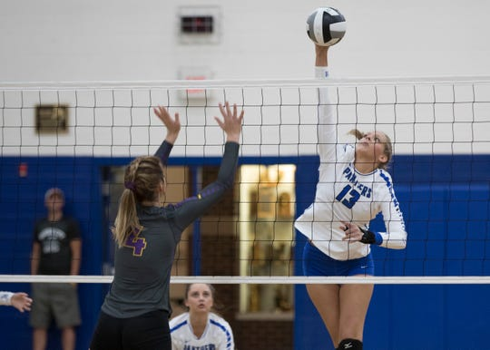 Southeastern volleyball will play Oak Hill Oct. 16 at 6 p.m