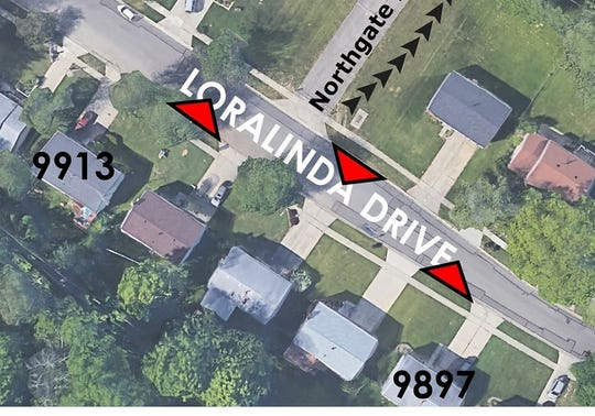 Colerain Township plans to test the use of chicanes to slow down motorists on Loralinda Drive.