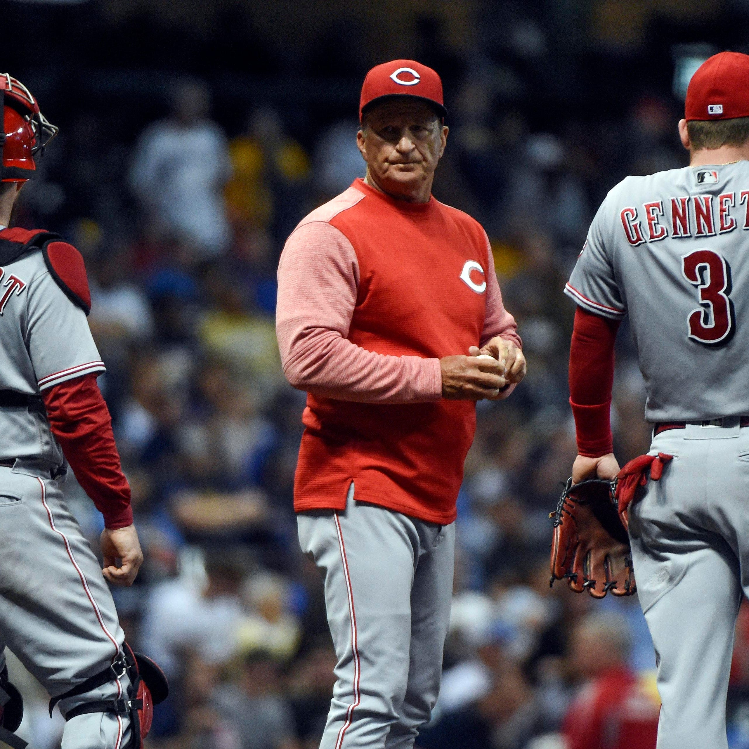 Mosquitoes are a nuisance for Cincinnati Reds players in Milwaukee