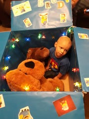 Brody Allen, 2, is celebrating what may be his last Christmas with his family as he battles a rare brain cancer.