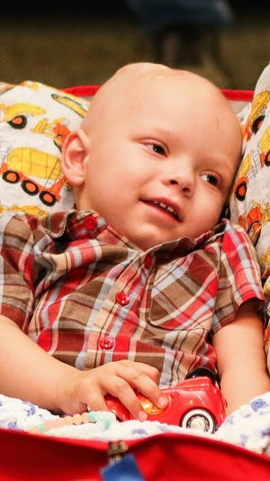Two-year-old Brody Allen, diagnosed with a rare brain cancer, is celebrating Christmas early as his family tries to make their remaining time with him happy memories.