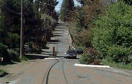 Seattle uses chicanes to slow traffic on some streets.