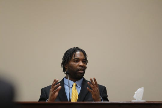 Kellum Williams testifies about his role in Amy Murphy's death.