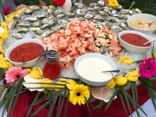 The raw bar offered by Metropolitan Seafood at A Culinary Affair.