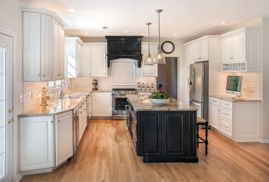 Among the many designs Bellari specializes in are kitchens. Pictured is one the Branchburg-based company designed and built in the Belle Mead section of Hillsborough.