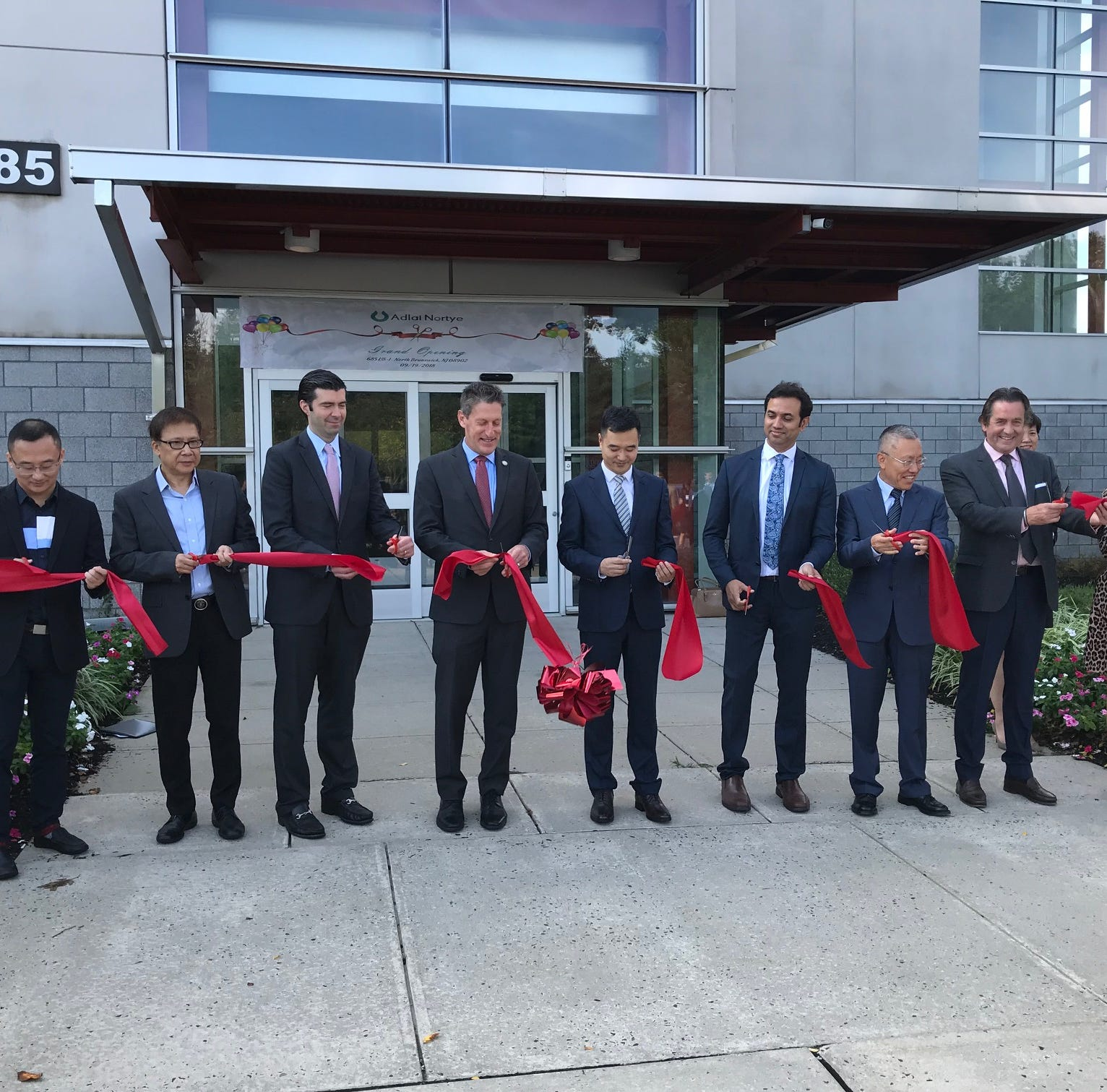 Adlai Nortye opens U.S. headquarters in North Brunswick