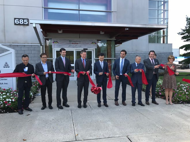 A grand opening and ribbon cutting was held Wednesday at Adlai Nortye USA's headquarters, which includes its Global Clinical Development and Antibody Drug Discovery Centers, in North Brunswick.