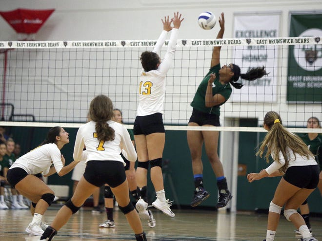 PHOTO GALLERY: Colonia at East Brunswick volleyball