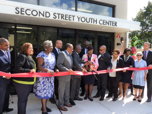 Second Street Youth Center ribbon cutting