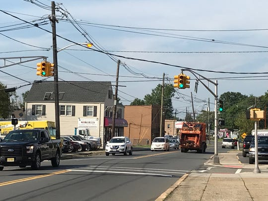 Intersection of King Georges Post Road and Liberty Street in the Fords section of Woodbridge where James Clement walked on a regular basis.