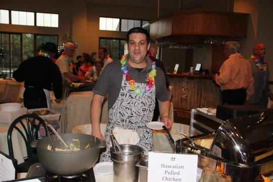Jonas Gold, owner of 55 Main in Flemington, at A Culinary Affair last year.