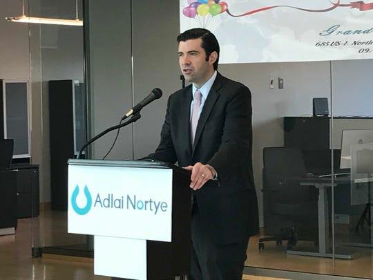 TimSullivan, CEO of theNew Jersey Economic Development Authority.