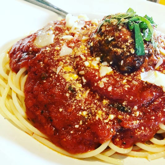 Spaghetti And Meatballs From Blue Tomato Kitchen