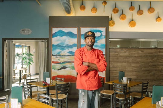 Franklin Wallace, Jr., executive chef of Blue Tomato Kitchen.