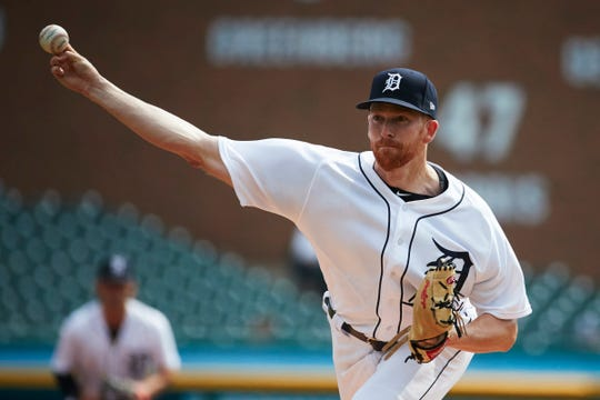 Tigers pitcher Spencer Turnbull pitches on Wednesday, Sept. 19, 2018, at Comerica Park.