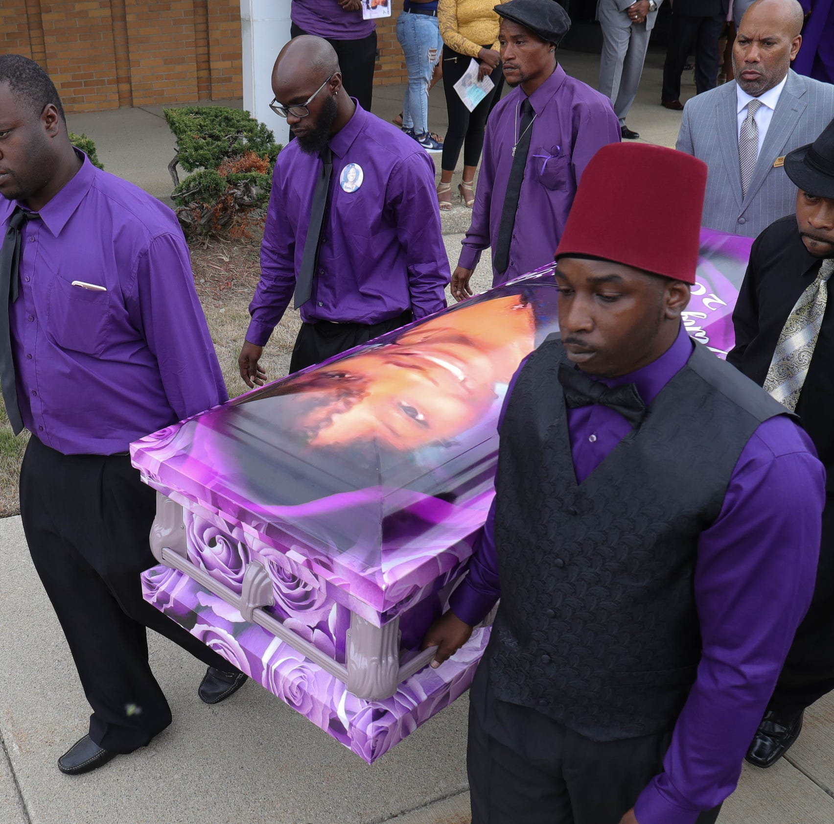 Minister at student's funeral: 'This baby is supposed to be in school'