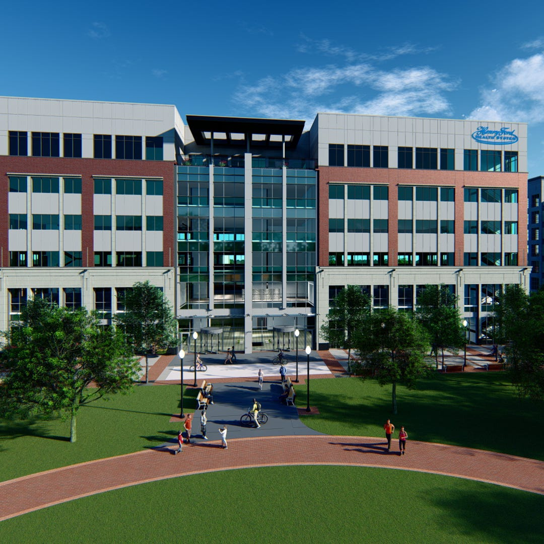 New tower in downtown Royal Oak to house major Henry Ford Health center