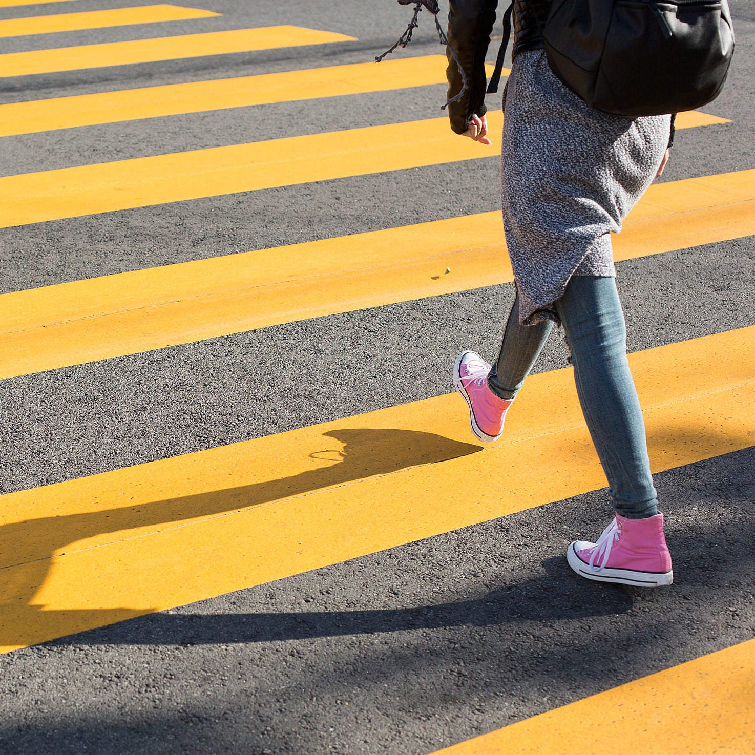 Crossing the street becomes a lost survival skill