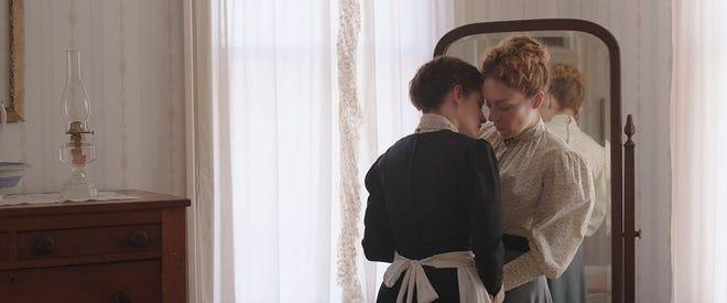"""Kristen Stewart and Chloe Sevigny in """"Lizzie."""""""