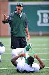 Dave Warner, Michigan State's co-offensive coordinator, has been on staff since 2006.