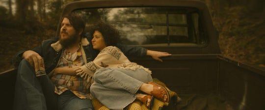 "Ben Dickey and Alia Shawkat in ""Blaze."""