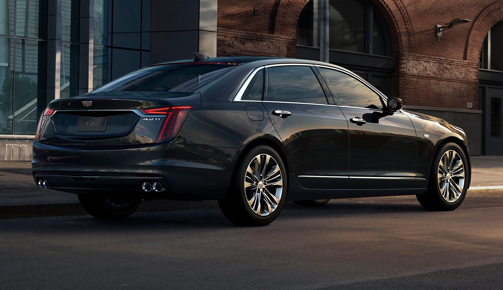 The 2019 Cadillac CT6 V-Sport