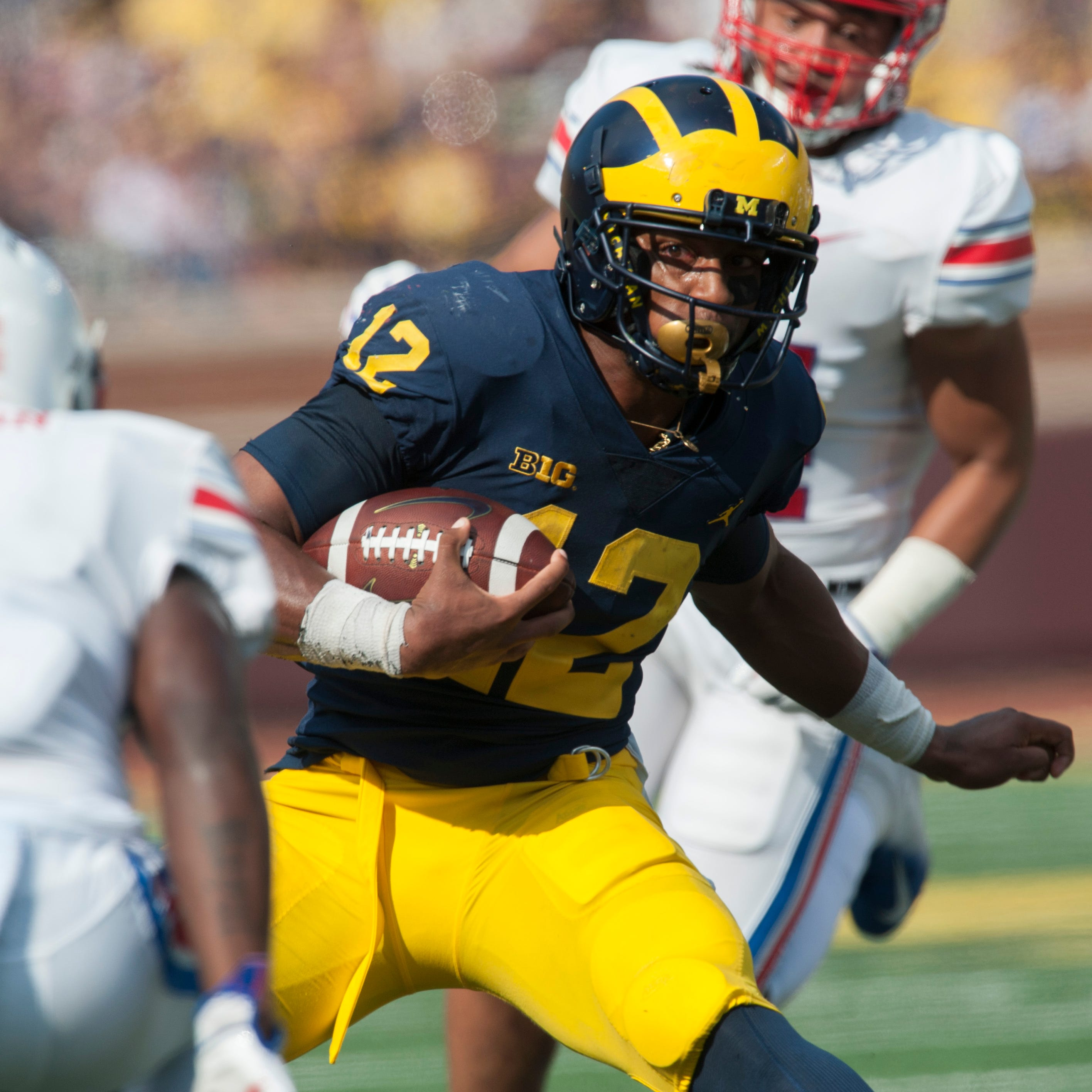 Higdon, Evans seem ready to go but Michigan likes its RB depth