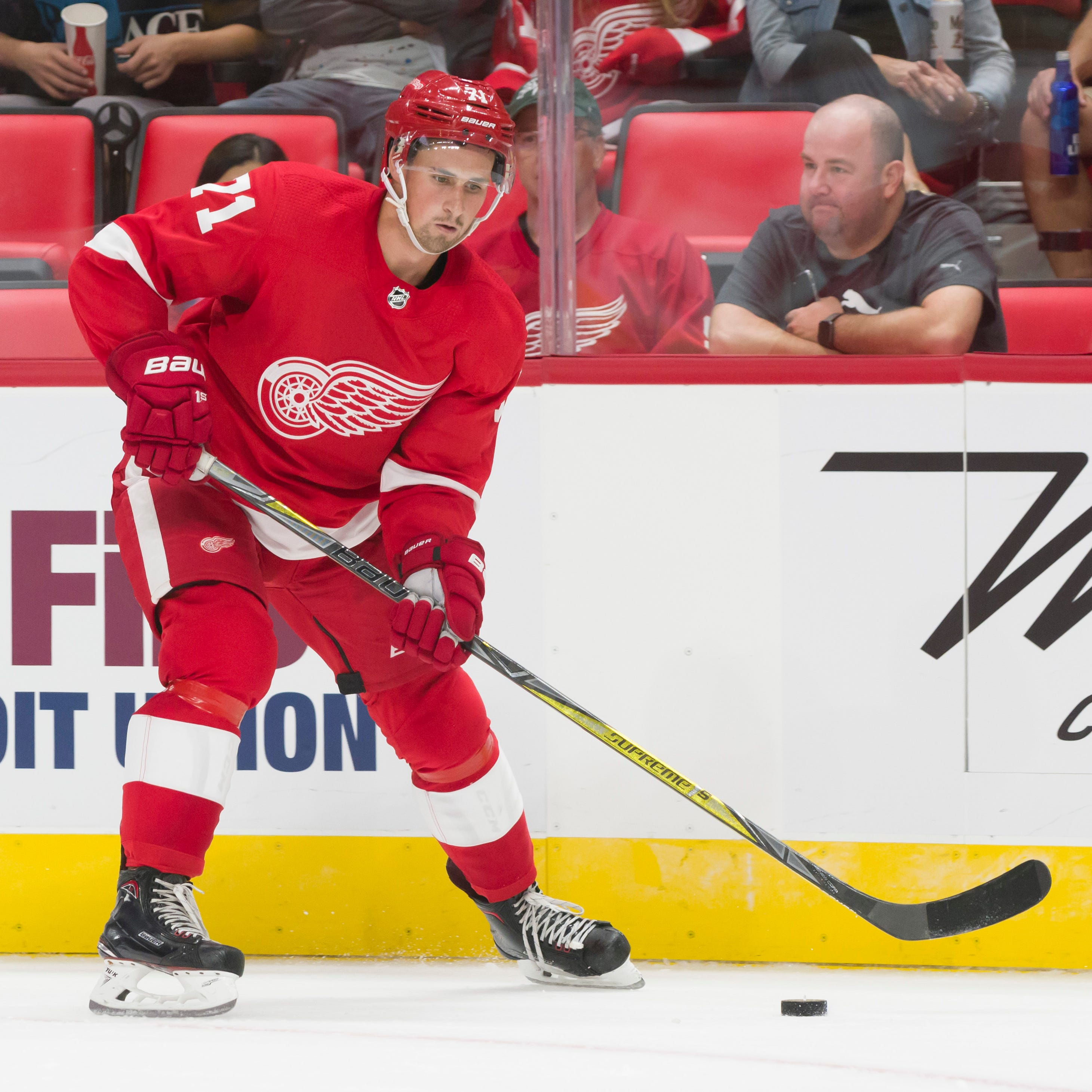 Krupa: Wings have leaders, but might hold off bestowing 'C'