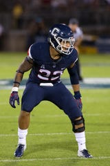 Eli Thomas was in his first season at UConn after playing at Lackawanna Community College.