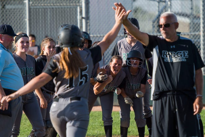 Dave Philop, Fossil Ridge High School head softball coach, has been suspended for the rest of the season for a substitution rules violation during a game Saturday