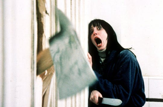"""Shelly Duvall in the film """"The Shining."""" The film will be one of many classic horror movies shown at The Lyric this October."""