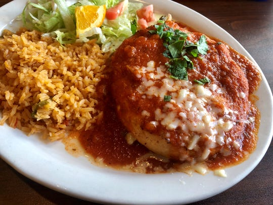 A chile relleno from Sabor A Mexico in North Fort Myers.