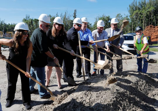 The Cape Coral historic site Coral Ridge Funeral Home and Cemetery had a ceremonial ground-breaking ceremony for its 8,500-square-foot-building. The new building will be on the 68-acre property, but facing Chiquita Boulevard, about 200 yards south of Pine Island Road. There will be a special celebration on Sept. 26.