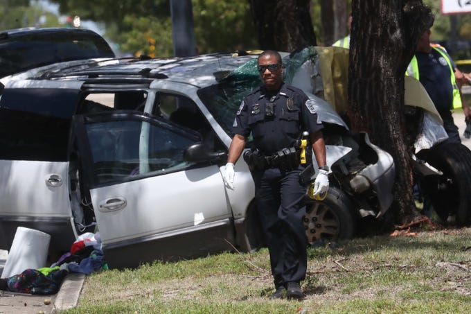 One person was killed in a vehicle accident on Fowler Street in Fort Myers between Carell Road and Winkler Avenue in Fort Myers.