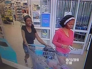 Police are searching for these two women suspected in theft and fraud at Walmarts in Lee and Charlotte counties.
