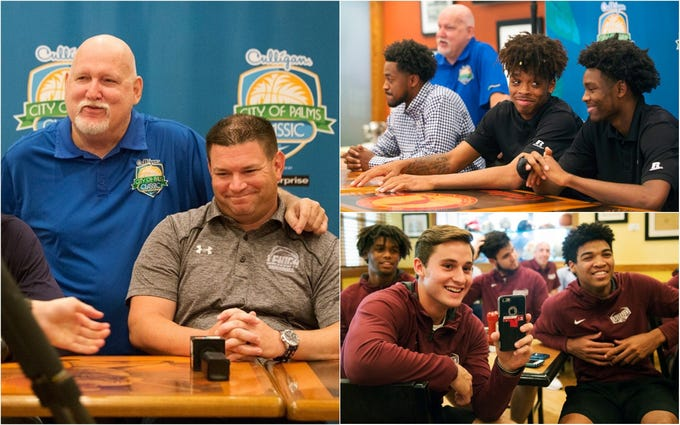 The City of Palms Classic announced the projected field during a press conference on Wednesday at the Crowne Plaza Fort Myers at Bell Tower Shops in south Fort Myers. The basketball tournament begins Dec. 17.