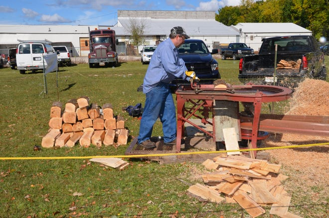 A shingle mill will be among the many pieces of vintage farm equipment giving demonstrations both days of Agricultural Heritage Days.