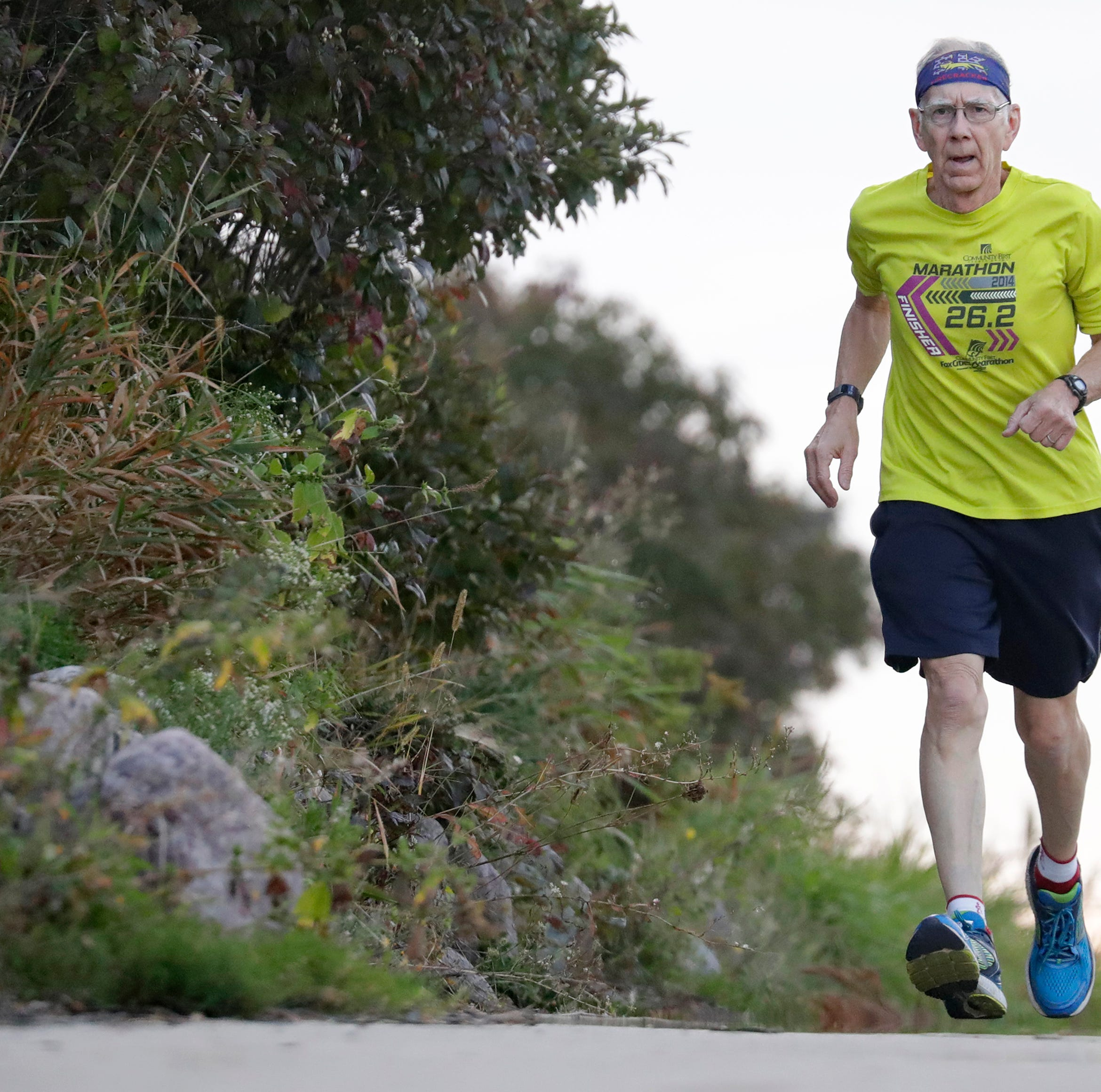 Fox Cities Marathon:  74-year-old still crazy (about running) after all these years