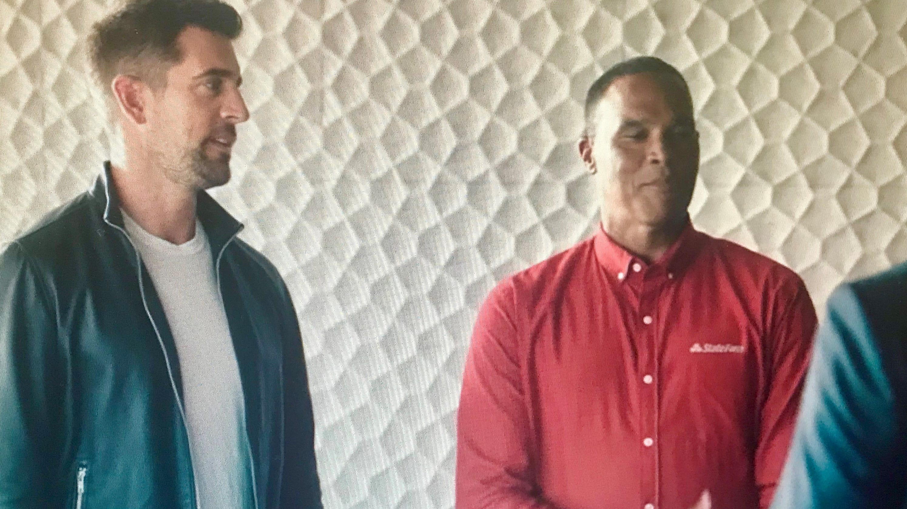 Image result for state farm aaron rodgers