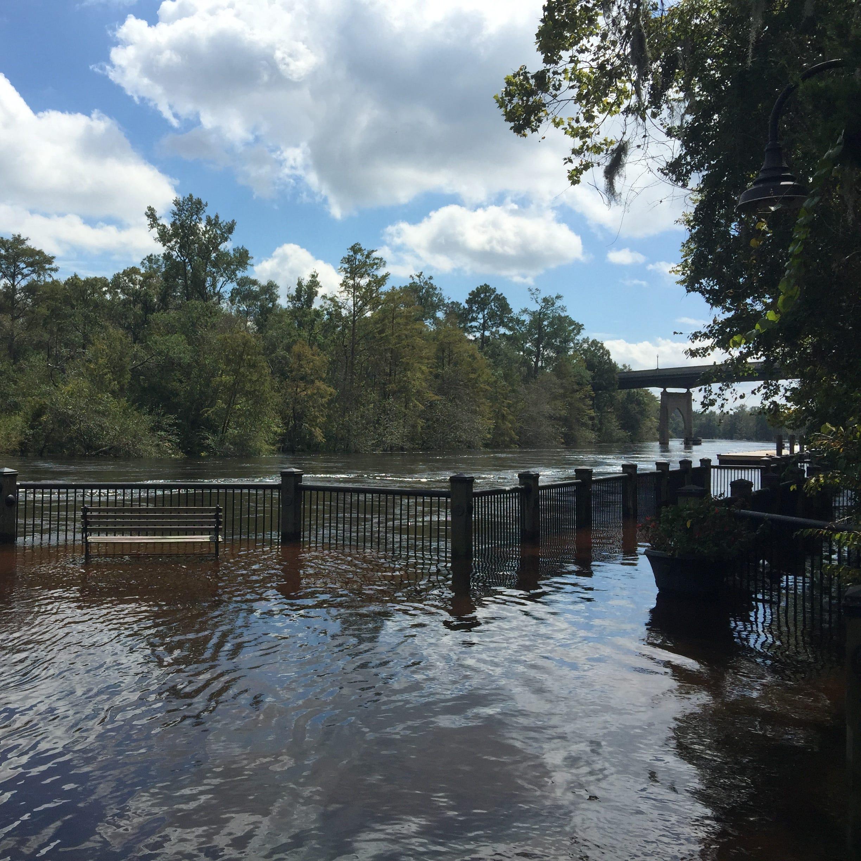 Florence: President Donald Trump comes to South Carolina to survey storm damage