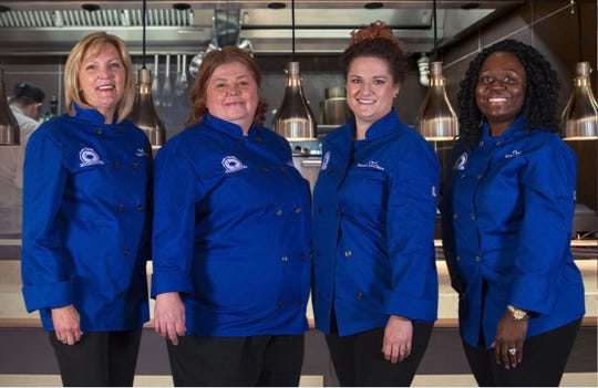 The 2018 South Carolina chef ambassadors, from left Heidi Vukov (Myrtle Beach), Michelle Weaver (Charleston), Sarah McClure (Landrum) and Kiki Cyrus (Columbia).