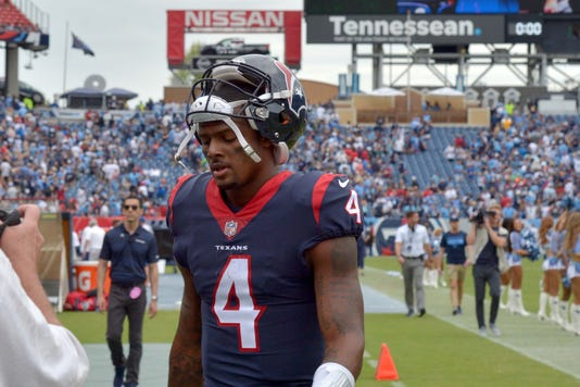 Nfl Houston Texans At Tennessee Titans