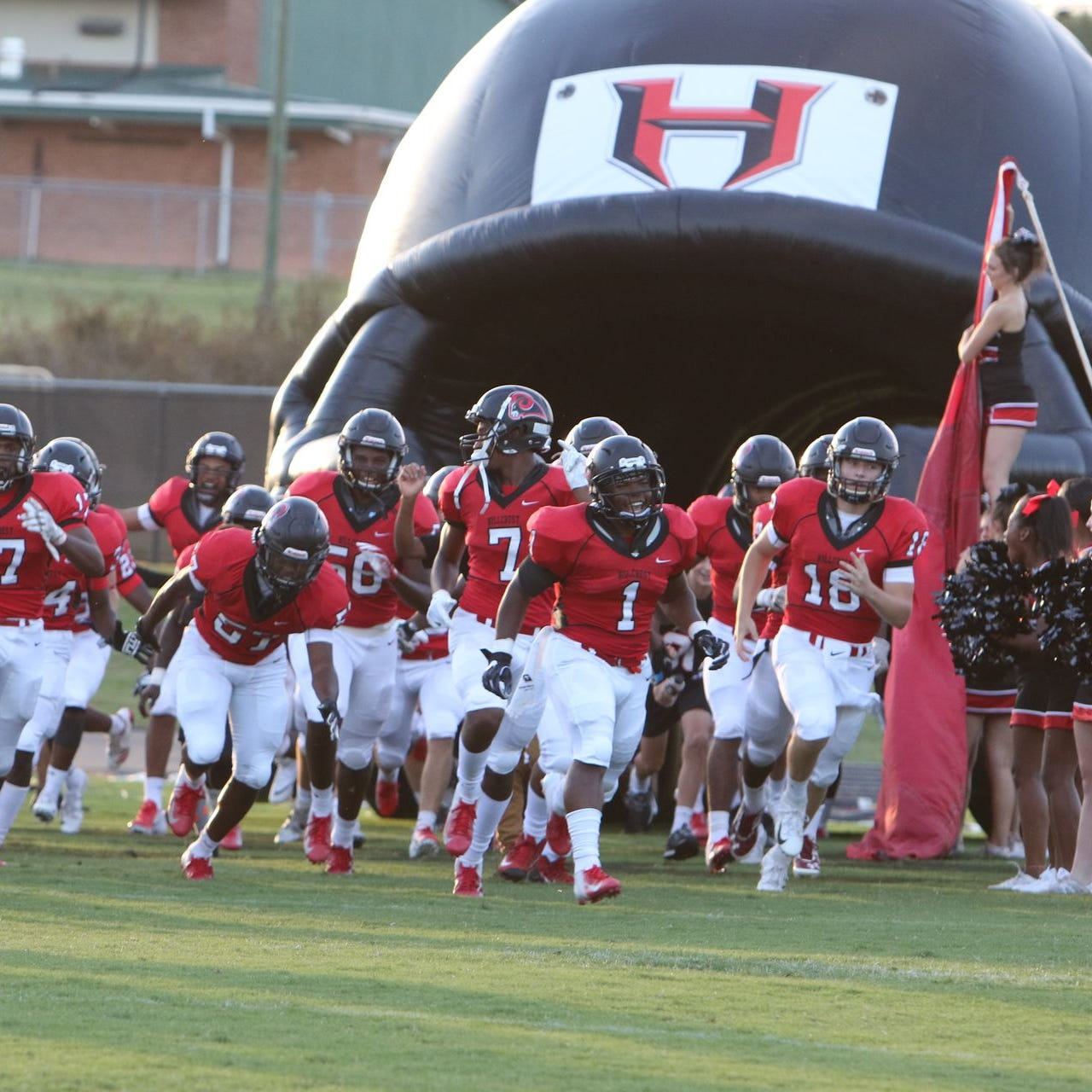 The Hillcrest Rams, ranked eighth in Class AAAAA, will host Spartanburg Friday in a Region 2-AAAAA game.