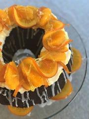 Chocolate Orange Zucchini Cake includes 2 cups of zucchini.