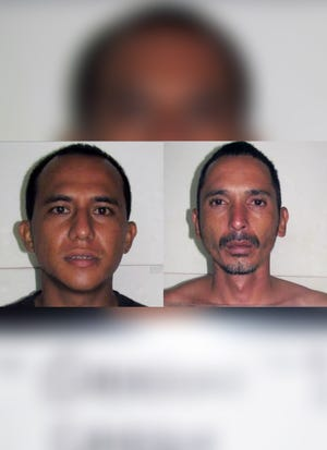 Combined mugshot of Cameron Jose Guerrero and Roy Craig Guerrero